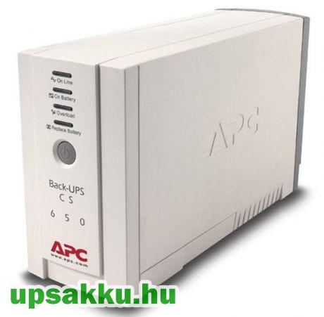 APC Back-UPS BK650EI / CS szünetmentes tápegység