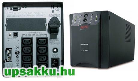 APC Smart-UPS SUA1000XLI bővíthető szünetmentes tápegység