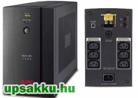 APC Back-UPS BX1400UI szünetmentes tápegység