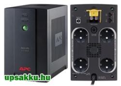 APC Back-UPS BX1400U-GR (normál dugós) szünetmentes tápegység