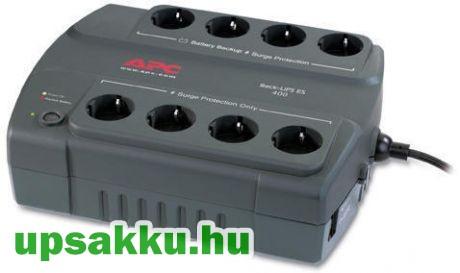 APC Back-UPS BE400-GR szünetmentes tápegység