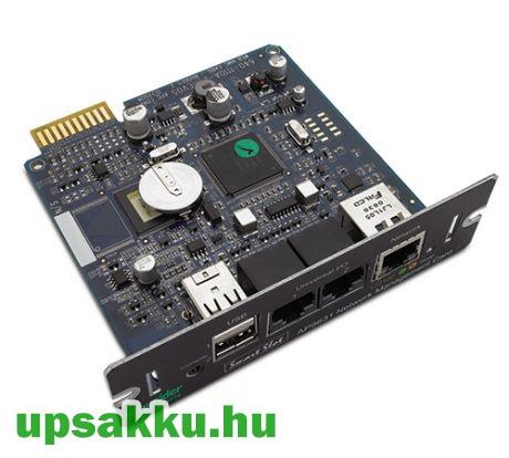 APC AP9631 WEB/SNMP kártya APC szünetmentes tápegységekhez felújított