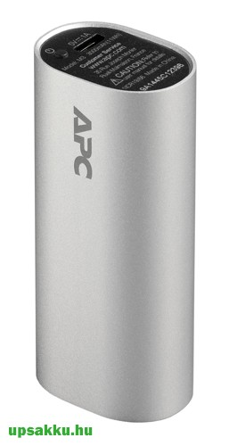 APC M3SR-EC Power Pack, Power Bank 3000mAh ezüst