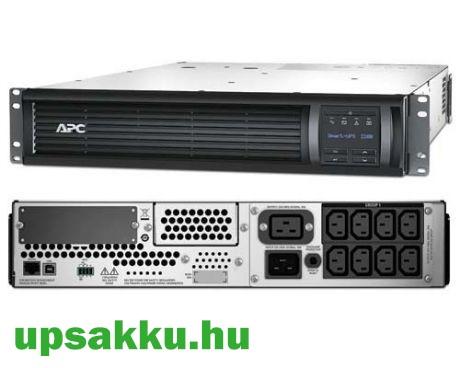 APC Smart-UPS SMT2200RMI2UC rackes szünetmentes tápegység