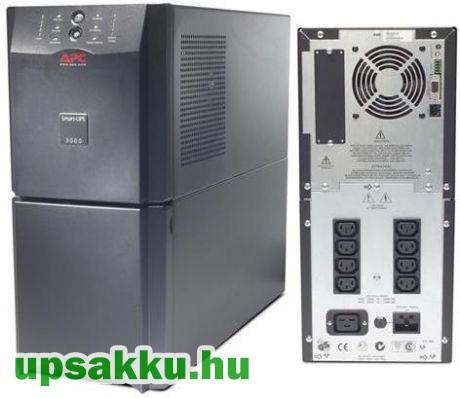 APC Smart-UPS SUA3000I szünetmentes tápegység (alsó előlap hiányzik)