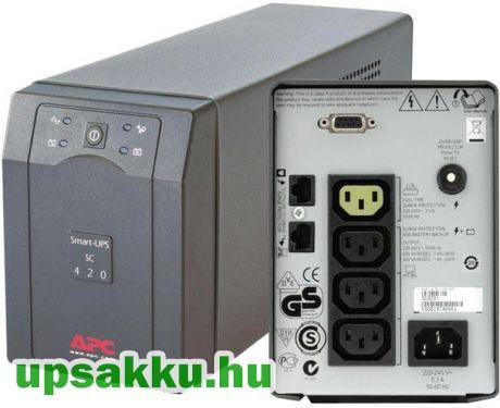 APC Smart-UPS SC420I szünetmentes tápegység