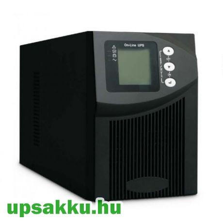 SPS MID 1000I 0.9 Online tower LCD UPS szünetmentes tápegység
