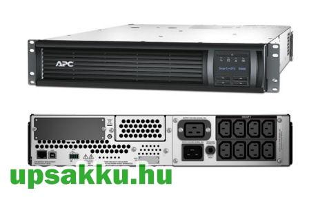 APC Smart-UPS SMT3000RMI2UC rackes LCD szünetmentes tápegység