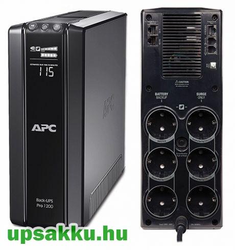 APC Back-UPS BR1200G-GR szünetmentes tápegység
