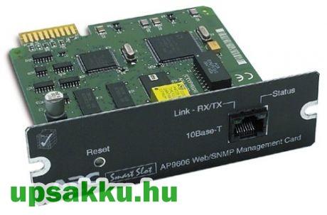 APC AP9606 WEB/SNMP kártya APC szünetmentes tápegységekhez