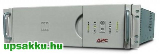 APC Smart-UPS SU3000RMI3U rackes szünetmentes tápegység