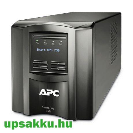 APC Smart-UPS SMT750I LCD szünetmentes tápegység, felújított