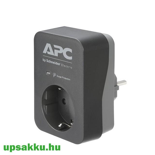 APC PME1WB-GR 1-es túlfeszültség-védő (fekete-szürke)